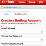 I want to log-in, not create an account.